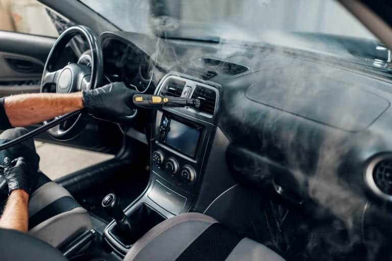 Steam cleaning a cars interior kills viruses and bacteria including COVID-19