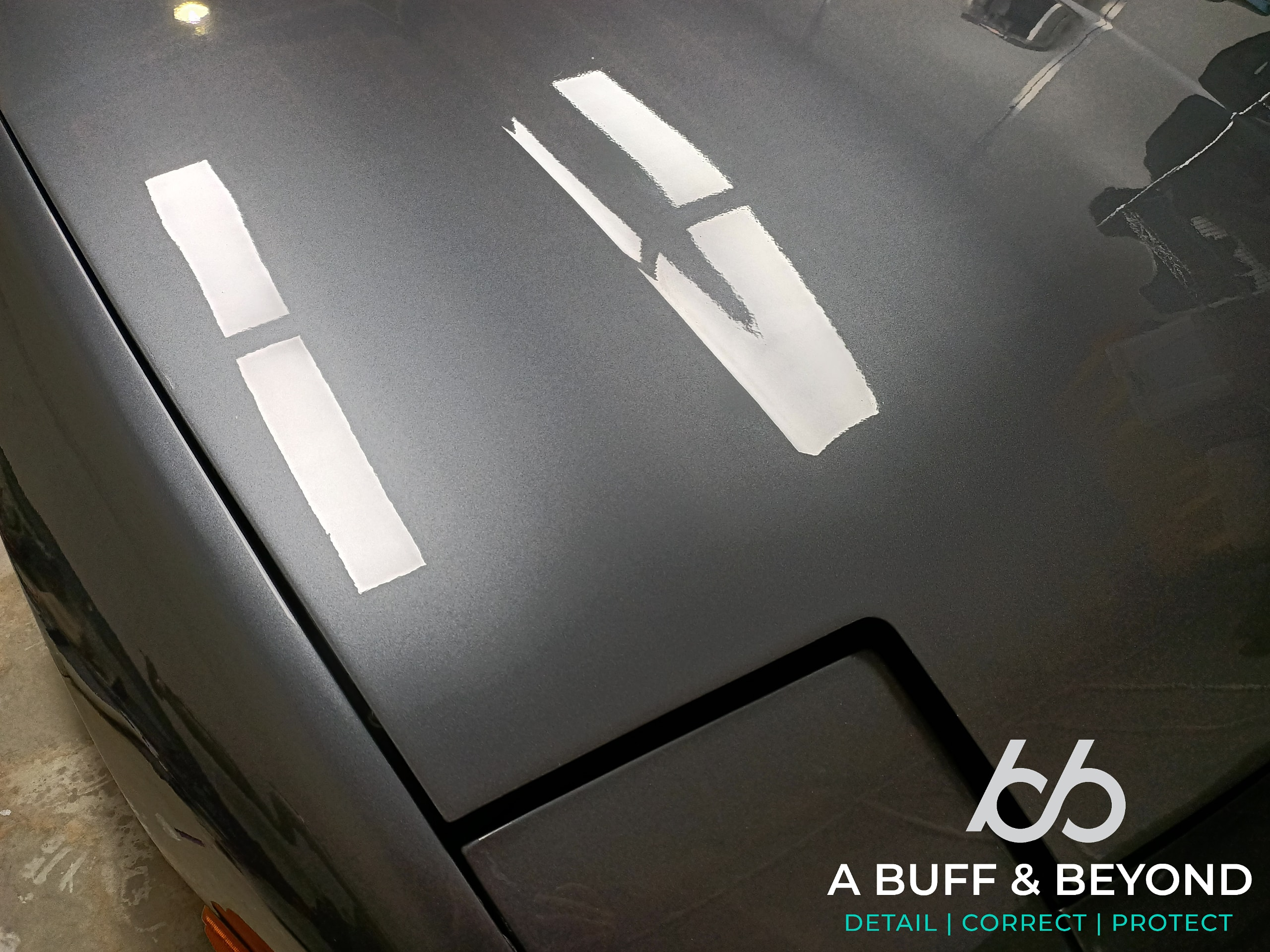 NISSAN 180SX Stage 1 paint correction