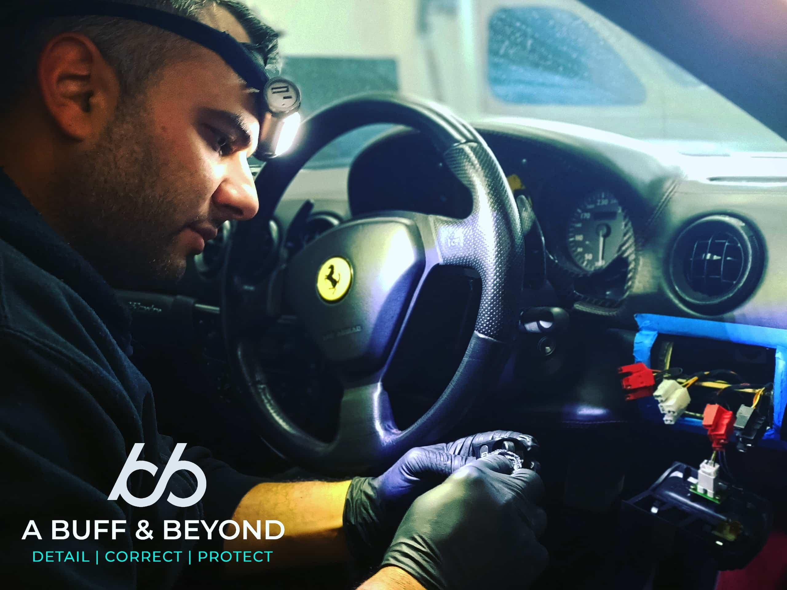 Sticky button fix for Ferrari
