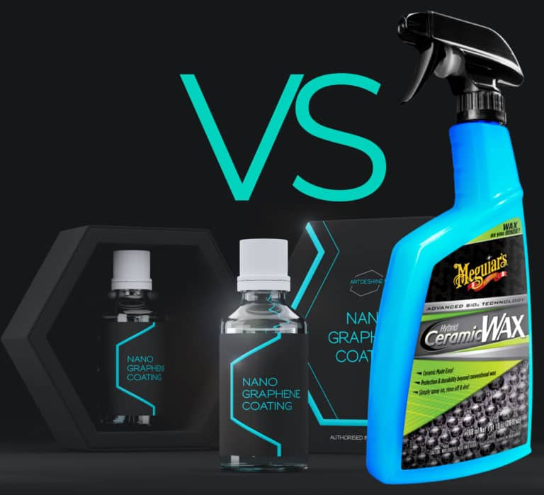 Graphene coatings vs spray ceramic coatings